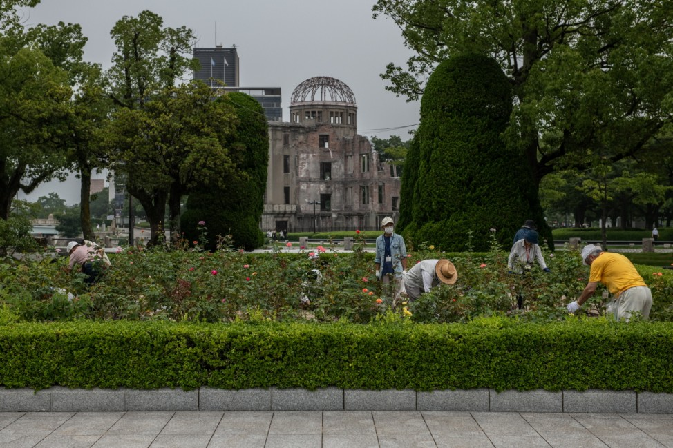 Hiroshima Prepares For the 75th Anniversary of Atomic Bomb