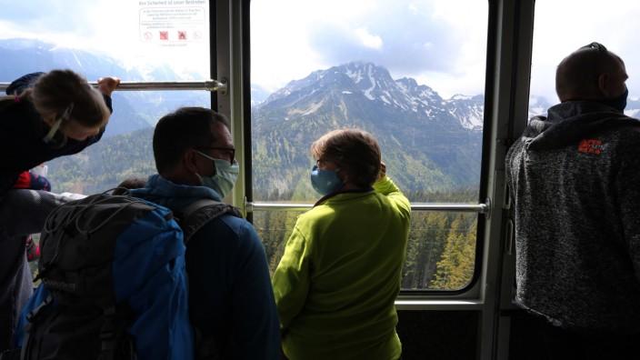 Freizeitkollaps: Bayerns Berge im Urlaubsstress