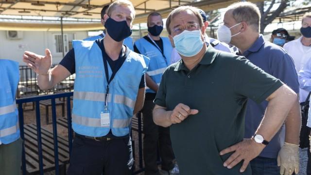 Armin Laschet Mytilini, 04.08.2020: Der nordrhein-westfälische Ministerpräsident reist zu politischen Gesprächen nach G