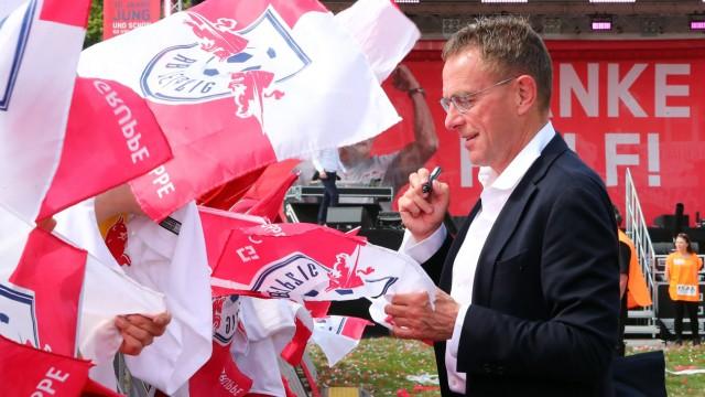 RB Leipzig Fanfest Fussball Leipzig 26 05 2019 Fussball Bundesliga RB Leipzig Fanfest auf der; Ralf Rangnick Leipzig