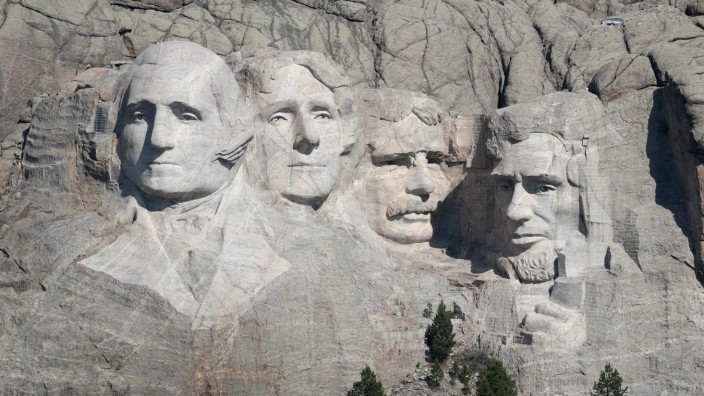Mount Rushmore National Memorial And Keystone, South Dakota Prepare To Host President Trump