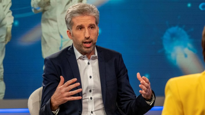 "Corona-Diskussion bei ""Maischberger"": Boris Palmer in der Sendung"