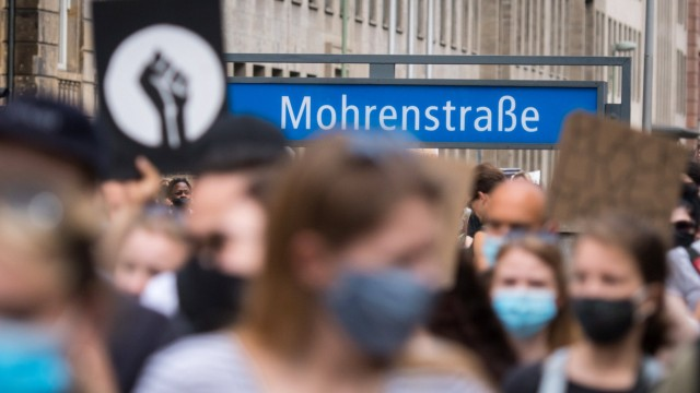 """Nein zu Rassismus -Demonstration"" in Berlin"
