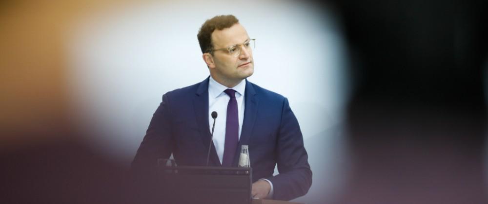 Gesundheitsminister Jens Spahn, Coronavirus