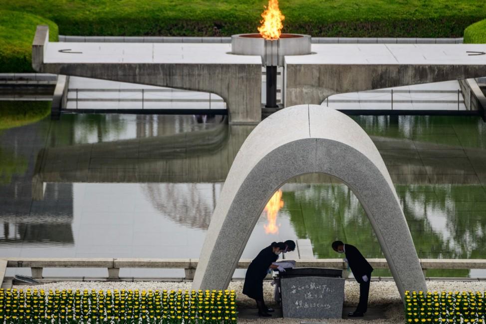 Erinnerungszeremonie in Hiroshima