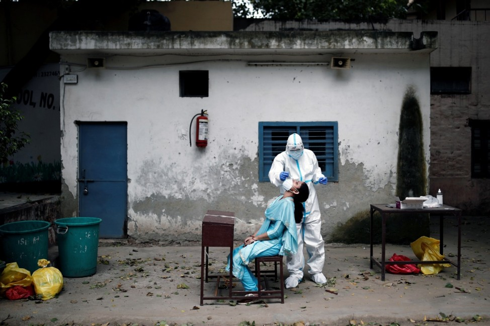 The outbreak of the coronavirus disease (COVID-19), in New Delhi