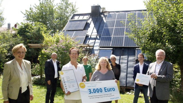 Bürgerenergiepreis Oberbayern
