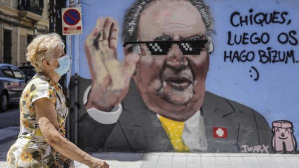 Altkönig Juan Carlos untergetaucht