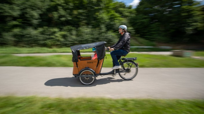 Lastenräder sollen die Verkehrswende bringen