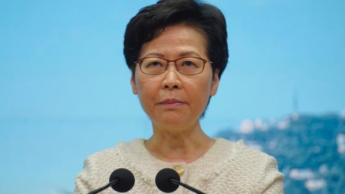 USA verhängen Sanktionen gegen Hongkongs Regierungschefin