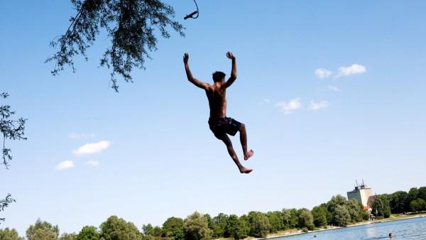 Sommer, am Heimstettener See