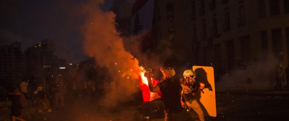 Proteste in Beirut / Libanon