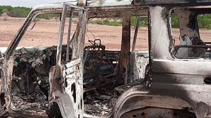 Überfall: In diesem Fahrzeug soll die Gruppe unterwegs gewesen sein, als sie angegriffen wurde.