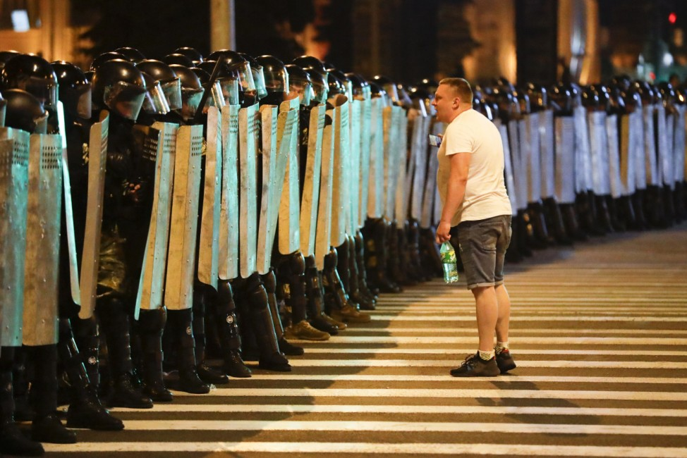 Präsidentenwahl in Belarus - Gewalt gegen Demonstranten