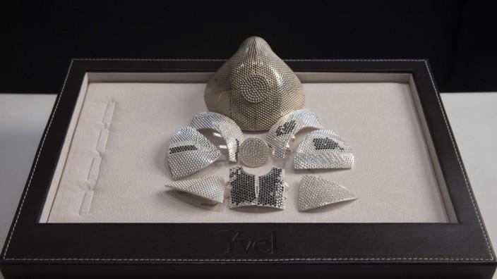 Coronavirus - Luxus-Maske in Israel