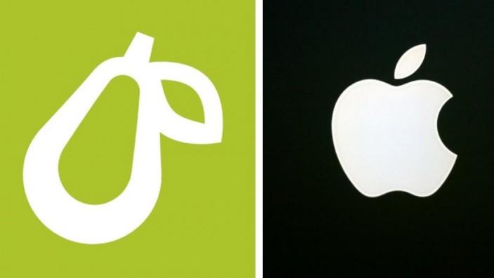 Prepear und Apple Logo