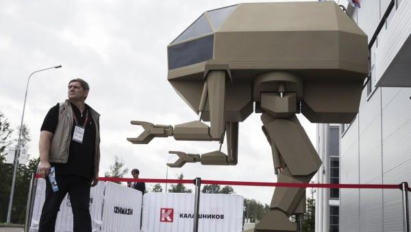 Russische Militär-Show