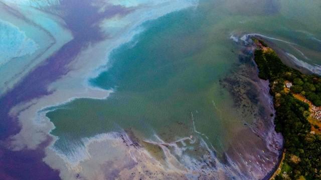 Ölkatastrophe vor Mauritius: Das Öl hat bereits Strände auf Mauritius erreicht.