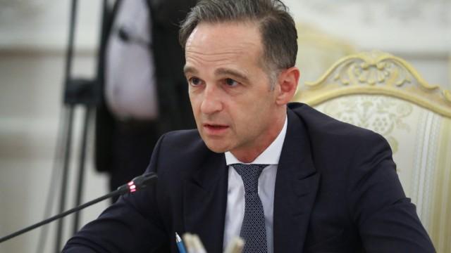 Außenminister Heiko Maas, Moskau, Nord Stream 2