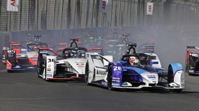 Maximilian Günther (D), BMW i Andretti Autosport FIA Formula E Marrakesh FIA Formula E 2020 *** Maximilian Günther D ,; Motorsport - Formel E - Maximilian Guenther BMW / Max Günther