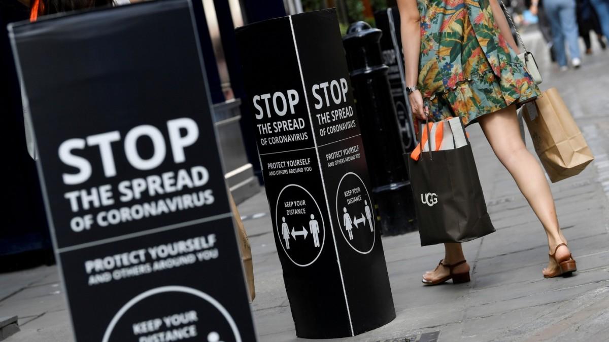 Britische Wirtschaft bricht ein wie nie zuvor