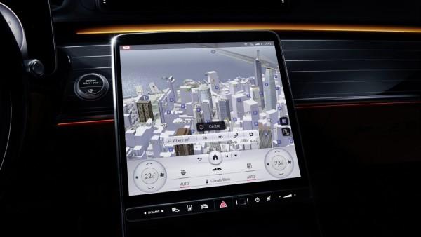 "Meet the S-Class DIGITAL: âÄžMy MBUXâÄ� (Mercedes-Benz User Experience): Unterwegs daheim âÄ"" luxuriös und digital  Meet the S-Class DIGITAL: 'My MBUX' (Mercedes-Benz User Experience): At home on the road âÄ"" luxurious and digital"
