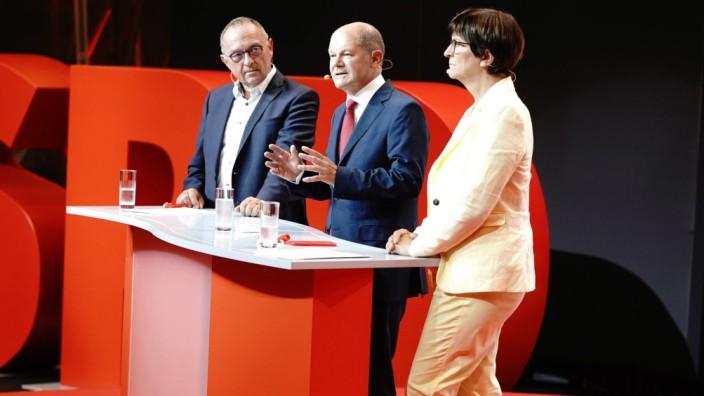 SPD Scholz Kanzler