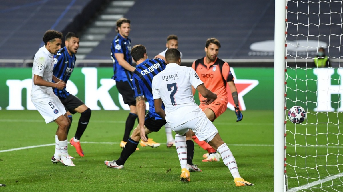Paris dreht das Spiel spektakulär gegen Bergamo