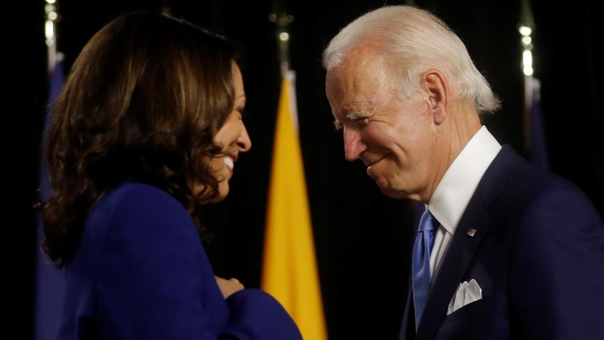 US-Wahl: So war der erste Auftritt von Biden und Harris
