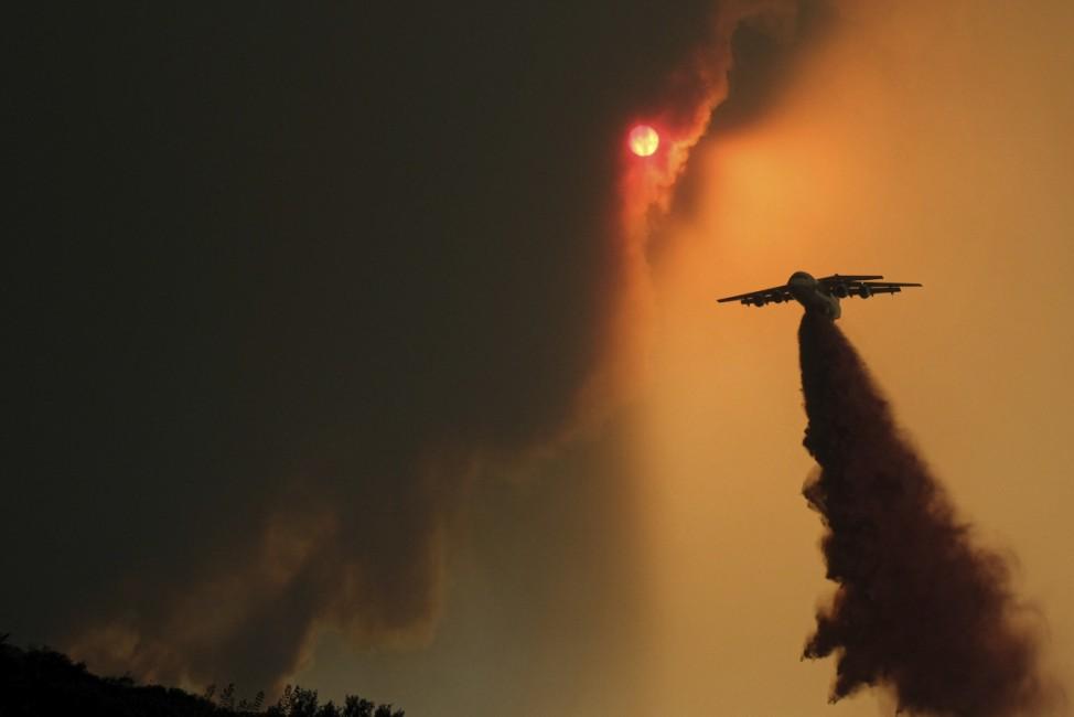 Waldbrände in den USA