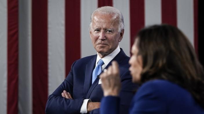 Biden, Harris, US-Präsidentschaftswahlkampf