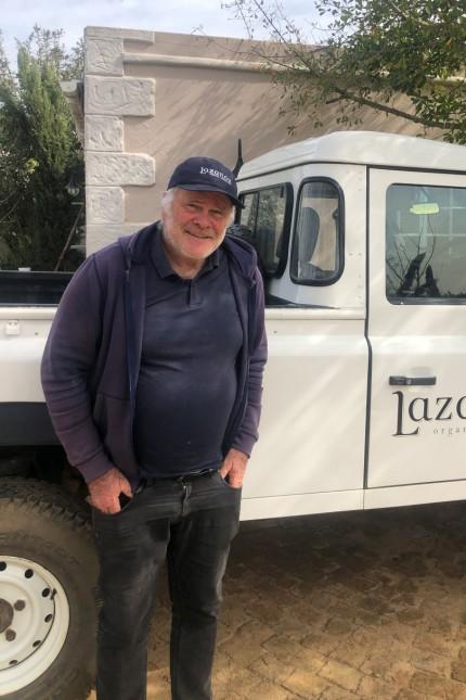 Südafrika: Für Josef Lazarus und sein Weingut Lazanou sind die Auslandsmärkte überlebensnotwendig.