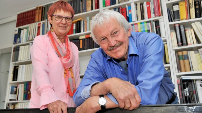 Pöcking: Kunstprofessorin Prof Marita Krauss und Historiker Erich Kasberger