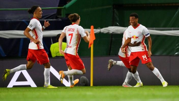 Champions League - Quarter Final - RB Leipzig v Atletico Madrid