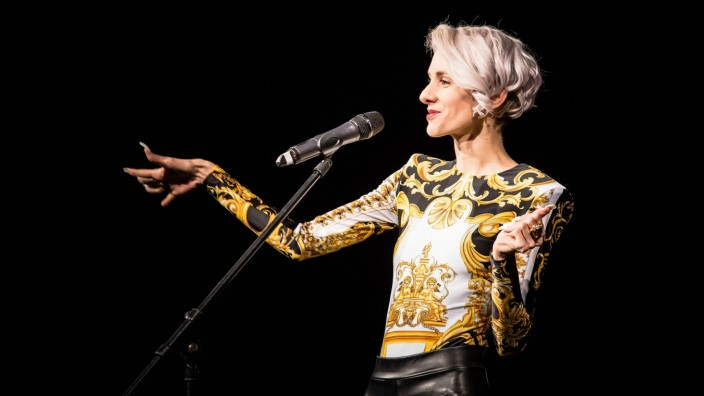 28.10.18, Bayreuth, Das Zentrum, Lisa Eckhart - als ob sie besseres zu tun hätten 2018, Foto: Lisa Eckhart *** 28 10 18