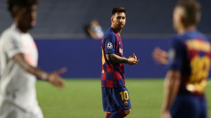 Champions League - Quarter Final - FC Barcelona v Bayern Munich