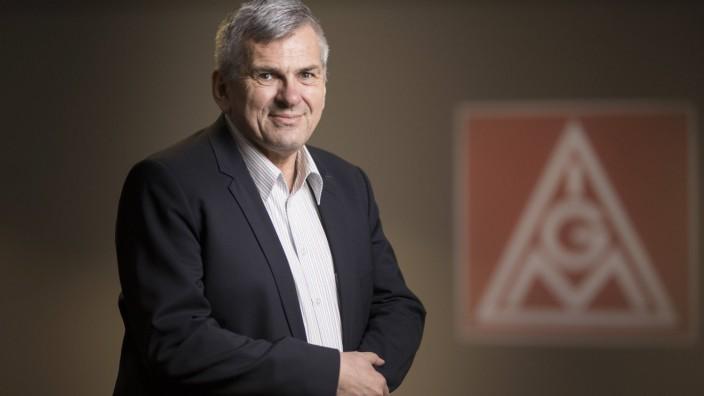Joerg Hofmann Erster Vorsitzender der Industriegewerkschaft Metall IG Metall posiert fuer ein Fo