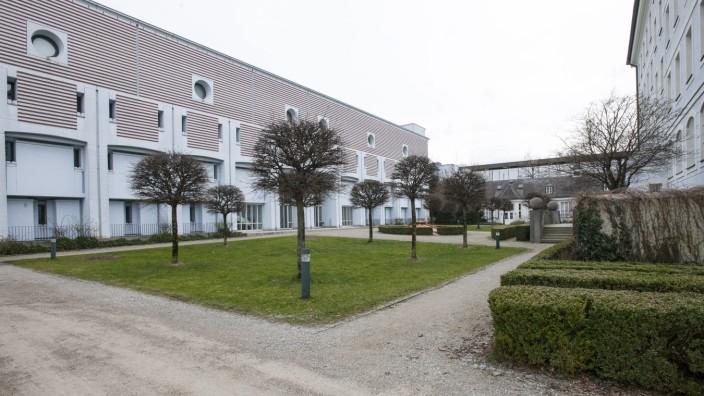 Muenchen Erweiterungsbau des Stadtarchiv in der Wizererstrasse 68