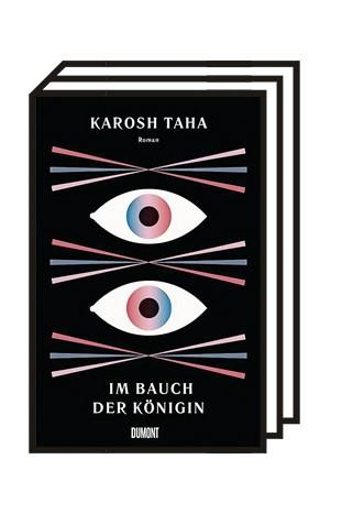 Karosh Tahas zweiter Roman: Karosh Taha:  Im Bauch der Königin. Roman. Dumont, Köln 2020. 131 + 125 Seiten, 22 Euro.