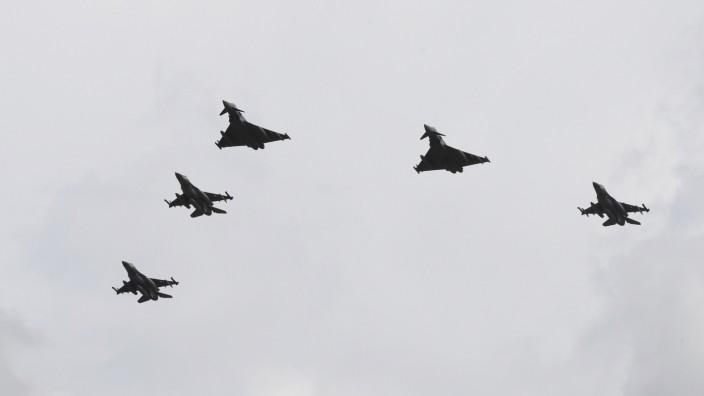 Israelische Kampfflugzeuge in Nörvenich