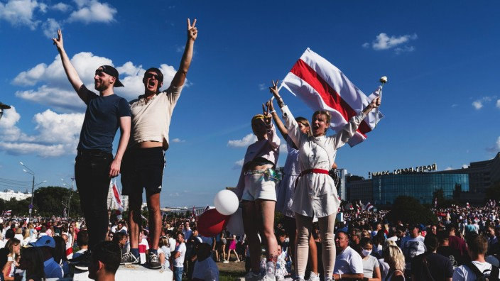 Weekend of Protests in Belarusian Capital