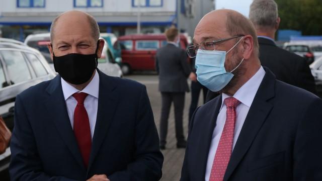 Scholz Schulz SPD Würselen