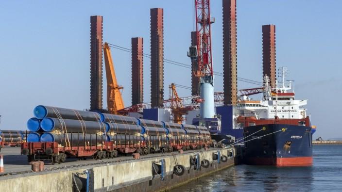Mukran Hafen Nord Stream 2