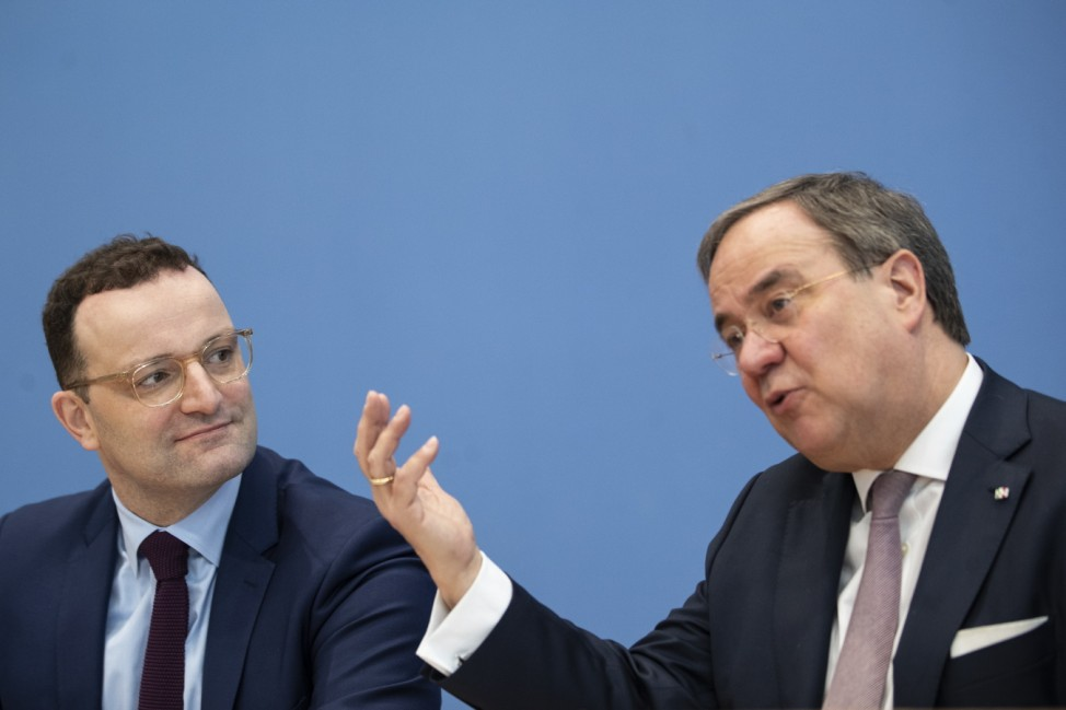 Merz And Laschet Announce CDU Leadership Candidacies, Spahn Declines