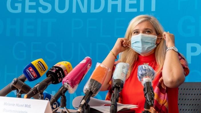 Pressekonferenz mit Melanie Huml
