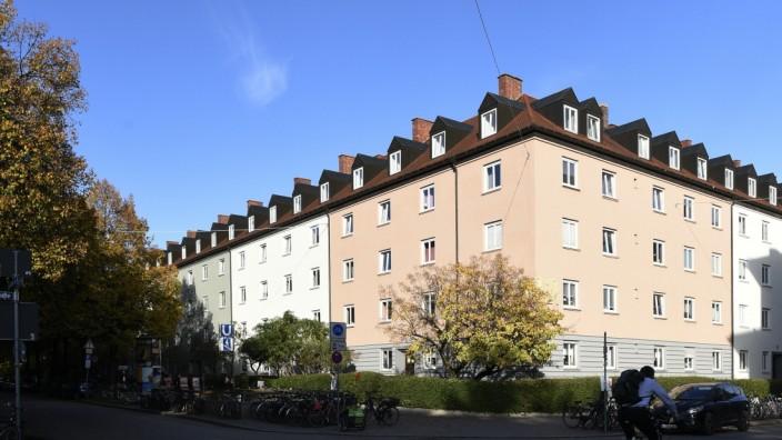Hohenzollernkarree in München, 2019