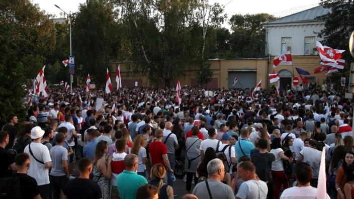 Belarus Proteste Minsk