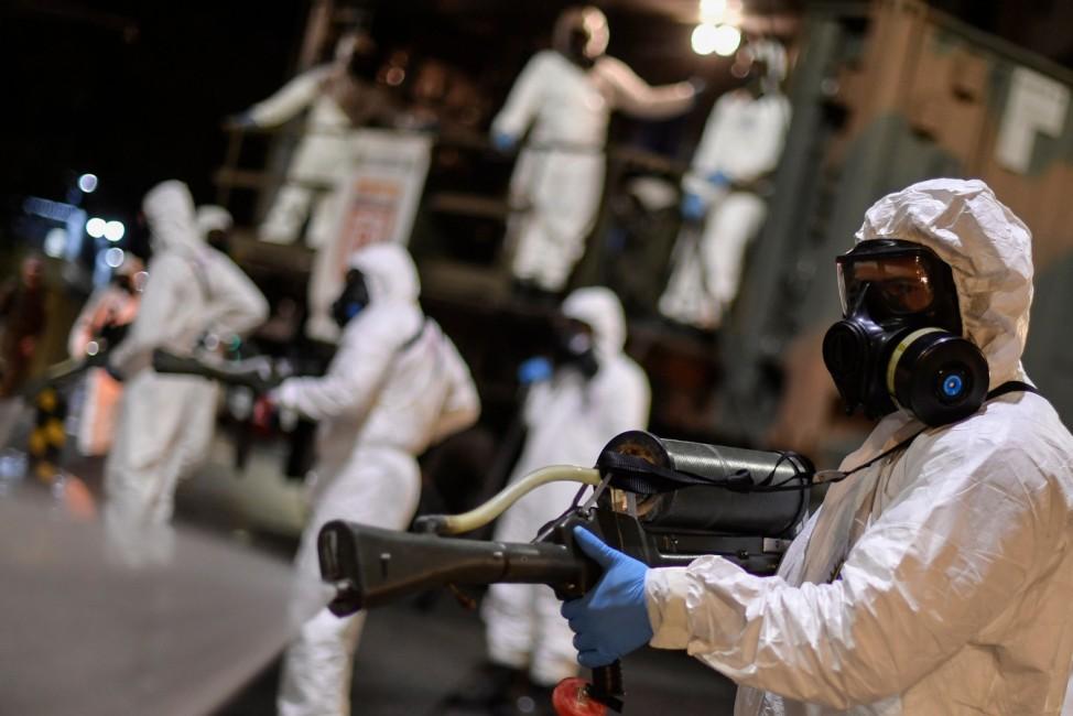 COVID-19 pandemic caused by new coronavirus
