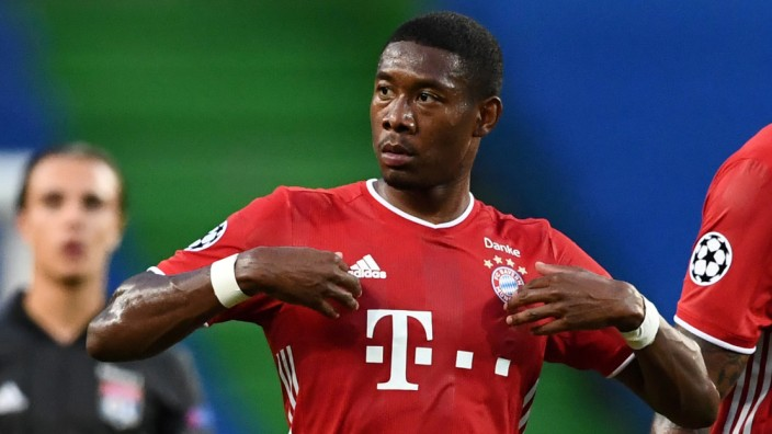 FC Bayern: David Alaba im Champions-League-Halbfinale 2020 gegen Olympique Lyon