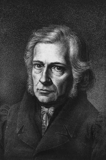 portrait de Friedrich Daniel Ernst Schleiermacher philosophe et théologien allemand Breslau 1768